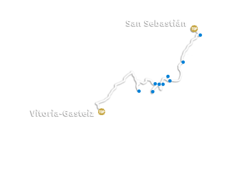 From San Sebastian to Vitoria-Gasteiz